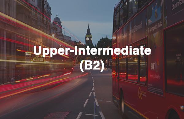 upper-intermediate level