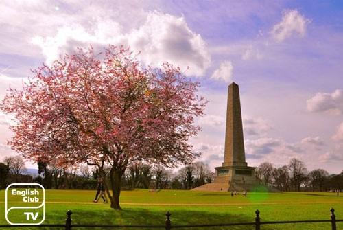 Мемориал Веллингтона в Феник-парке, Дублин