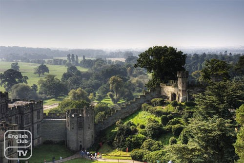 Уорикский замок, графство Уорикшир