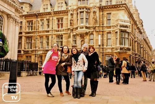 Студенты Кэмбриджа
