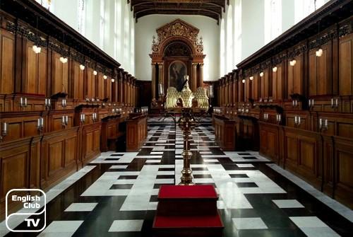 Холл университета Кембридж