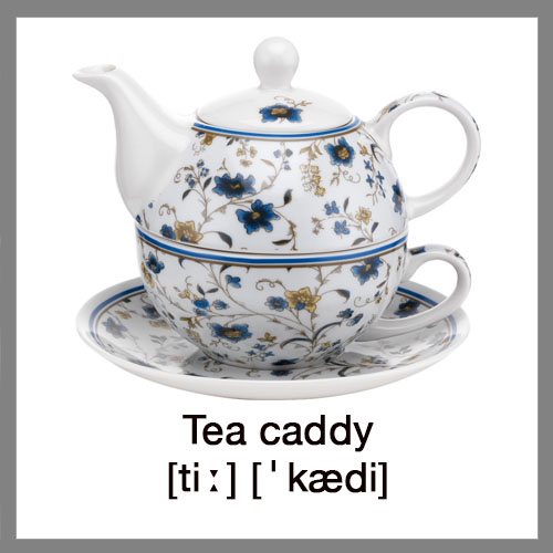 tea-caddy