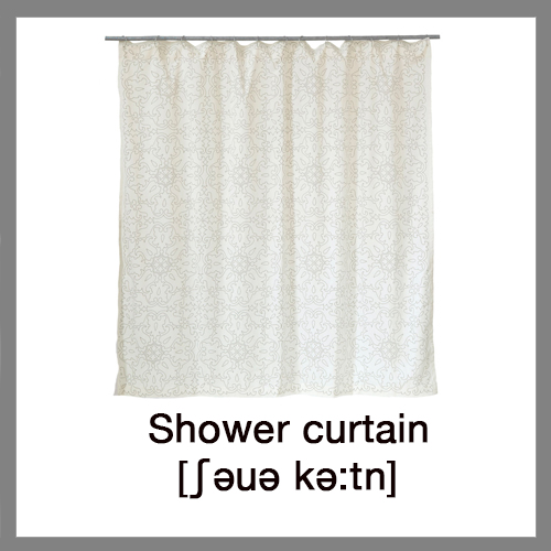 Learn English Words Bathroom