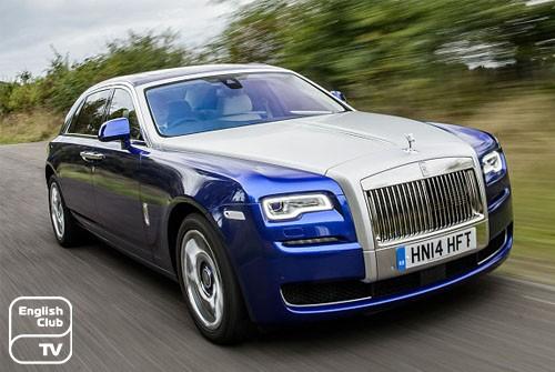 английские марки авто Rolls Royce