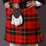 Шотландский килт — мужская юбка в национальных традициях