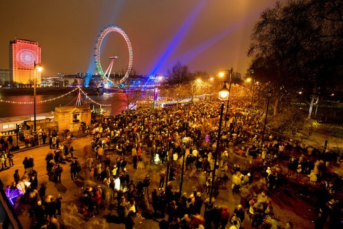 New Year's Eve in England