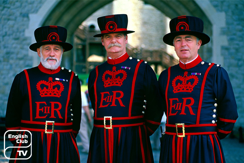 Warders the Tower of London