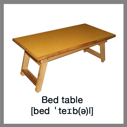 Bed-table