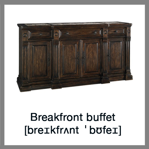 Breakfront-buffet