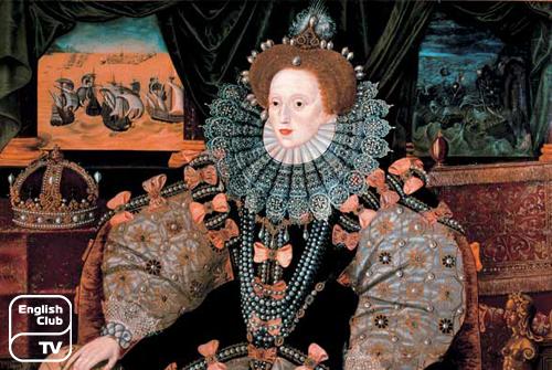 королева Англии Eлизавета I