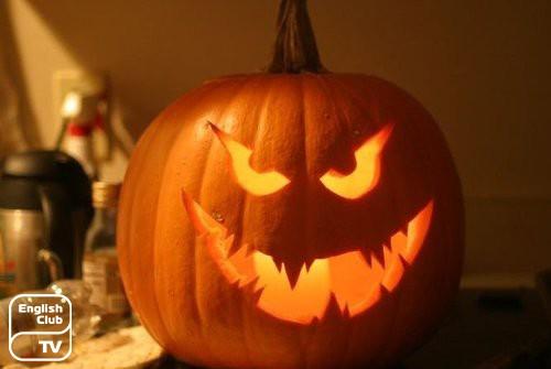 символ хеллоуина тыква