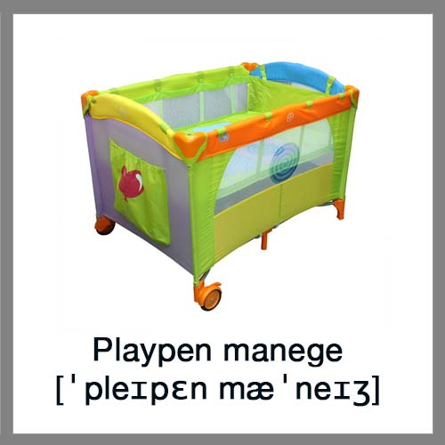 Playpen-manege