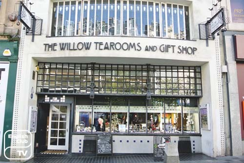 Willow Tearooms Glasgows attractions