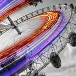 Колесо обозрения «Лондонский глаз» показывает Лондон с высоты птичьего полета