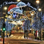 Оксфорд-стрит или «дамская миля» в Лондоне