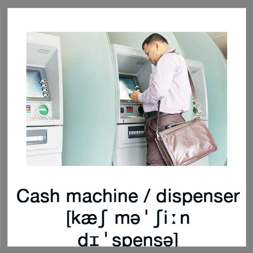Cash-machine
