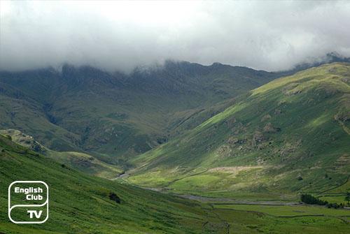 Горы Англии
