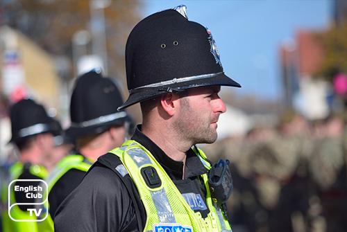 полиция в Англии
