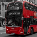 The Iconic Red Double Decker Buses