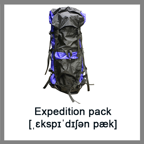 Expedition-pack