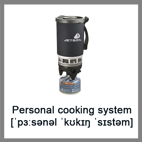 Personal-cooking-system