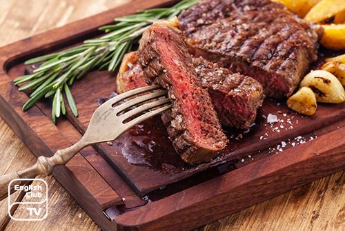 Мясо по-английски