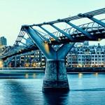Мост Миллениум — необычайное английское сооружение!