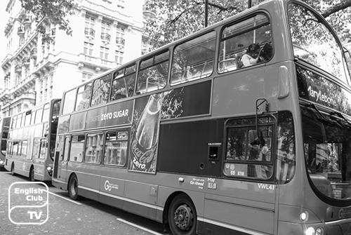 автобусы в Англии