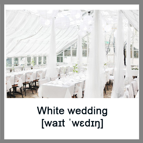 White-wedding
