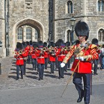The Royal Guardsmen of the Queen's Guard