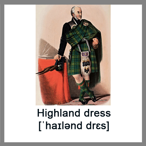 Highland-dress