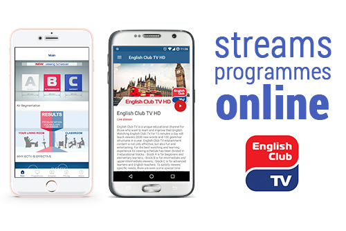 English Club TV application